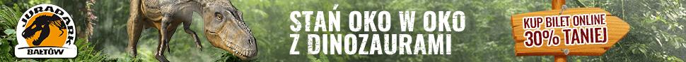 Jurapark bilety online - 30% taniej