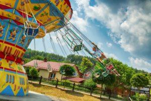 atrakcje dla dzieci - park rozrywki