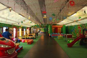 park rozrywki - najmłodsze dzieci