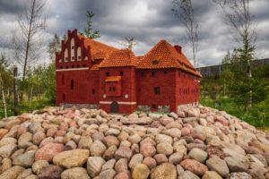 Park miniatur - budowla