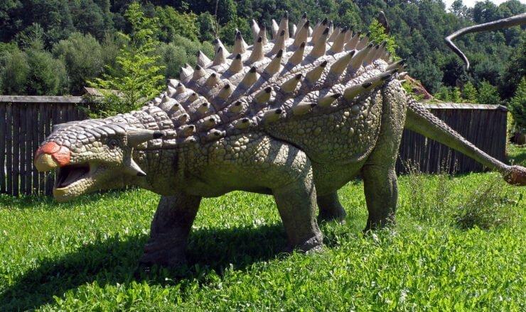 ankylozaur - jurapark bałtów