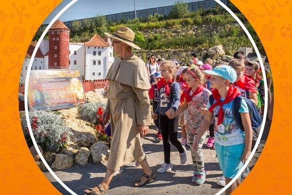 wycieczka szkolna do Bałtowa