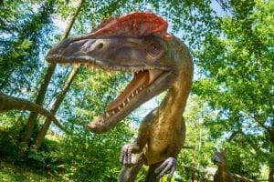 Dilofozaur JuraPark Bałtów