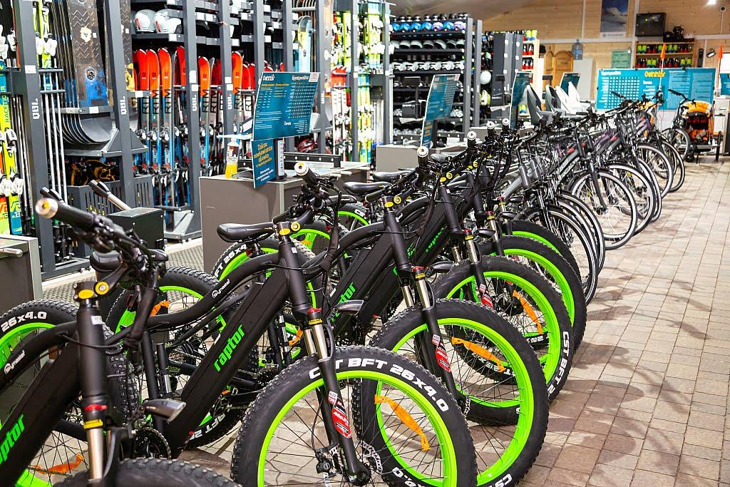 Wypożyczalnia rowerów w Bałtowie